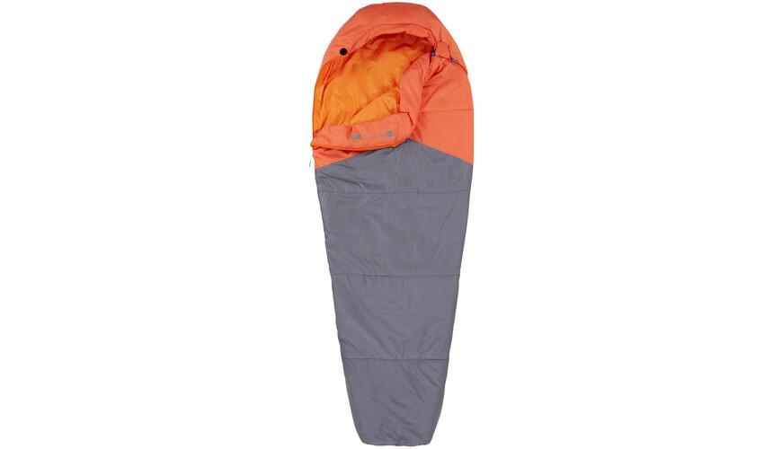 The North Face Aleutian 40/4 Long szary/pomarańczowy